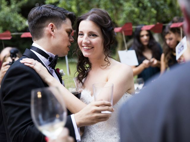 La boda de Brennan y Grace en Sant Cugat Sesgarrigues, Barcelona 127