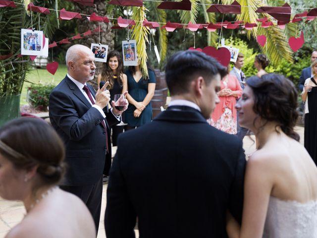 La boda de Brennan y Grace en Sant Cugat Sesgarrigues, Barcelona 128