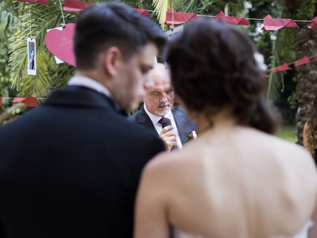 La boda de Brennan y Grace en Sant Cugat Sesgarrigues, Barcelona 129