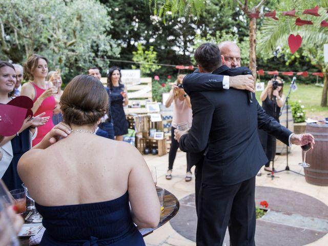 La boda de Brennan y Grace en Sant Cugat Sesgarrigues, Barcelona 131