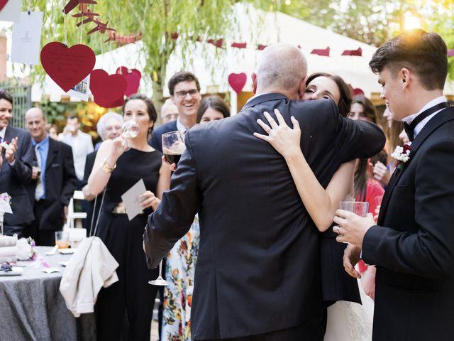 La boda de Brennan y Grace en Sant Cugat Sesgarrigues, Barcelona 132