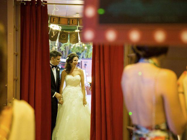 La boda de Brennan y Grace en Sant Cugat Sesgarrigues, Barcelona 134