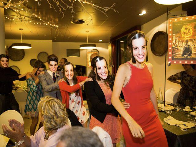 La boda de Brennan y Grace en Sant Cugat Sesgarrigues, Barcelona 140