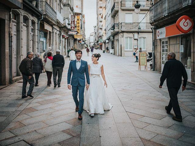 La boda de Jacobo y Zaida en O Carballiño, Orense 1