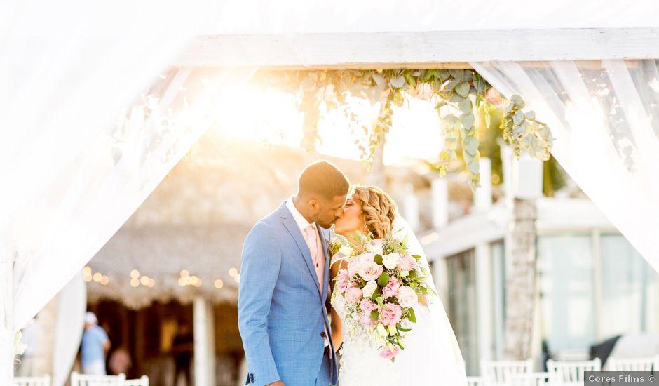 La boda de Joseph y Savis en Costa, Las Palmas