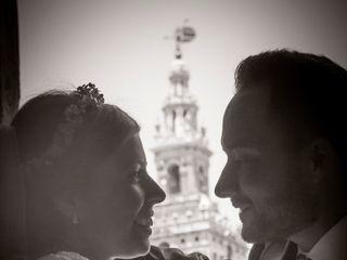 La boda de Begoña y Mané