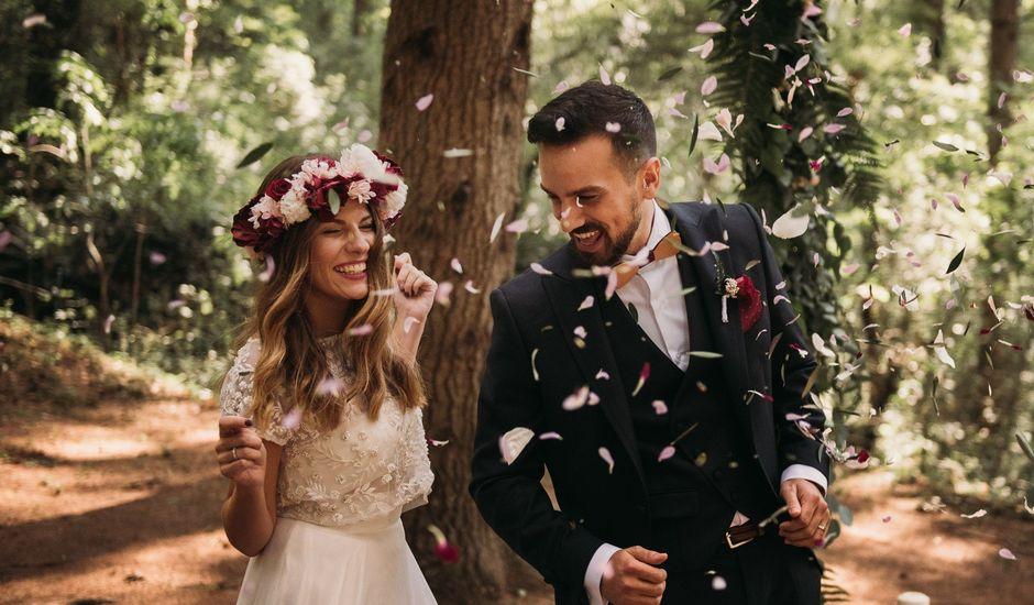 La boda de Jordi y Jennifer en Vilanova De Sau, Barcelona