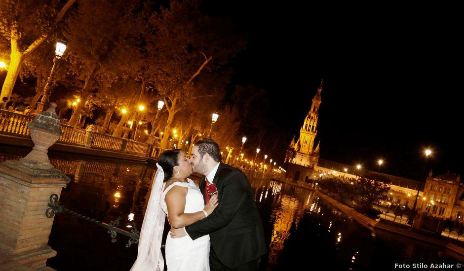 La boda de Roberto y Mercedes en Dos Hermanas, Sevilla