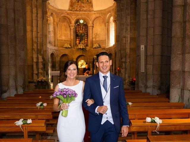 La boda de Hércules y Fani en Santiago De Compostela, A Coruña 45