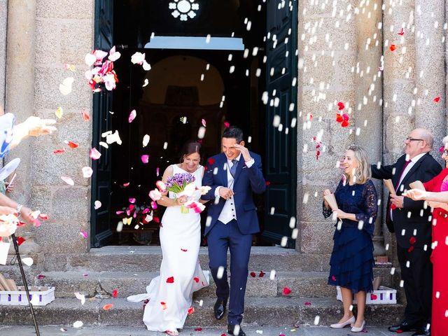 La boda de Hércules y Fani en Santiago De Compostela, A Coruña 46