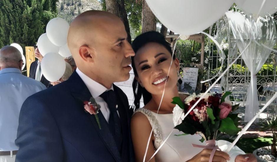 La boda de Oscar y Yana en Finestrat, Alicante