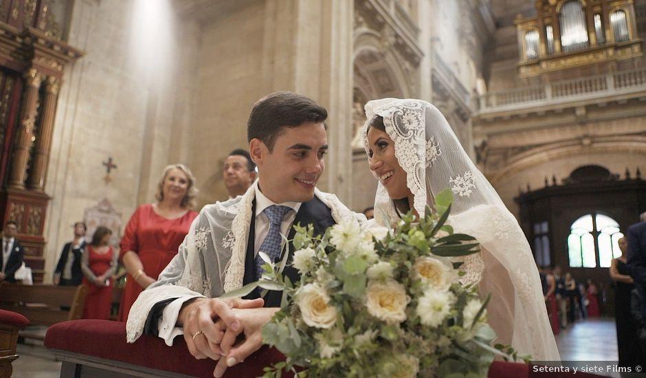 La boda de Pedro y Esther en Granada, Granada