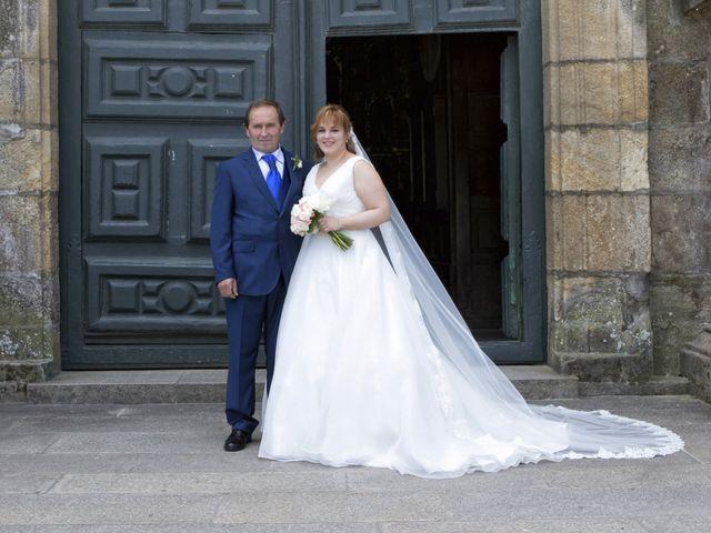 La boda de David y Isabel en Santiago De Compostela, A Coruña 6