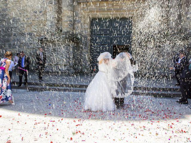 La boda de David y Isabel en Santiago De Compostela, A Coruña 9