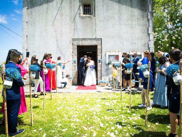 La boda de Mateo y Rebeca en Bergondo, A Coruña 12