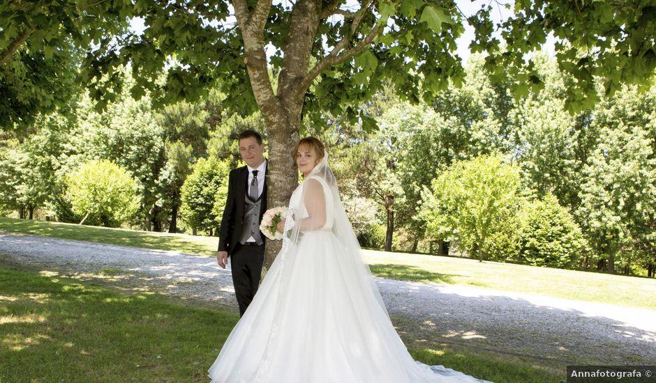 La boda de David y Isabel en Santiago De Compostela, A Coruña