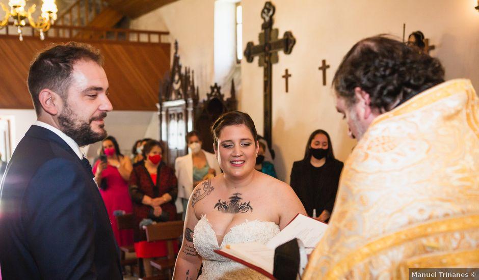 La boda de Mateo y Rebeca en Bergondo, A Coruña