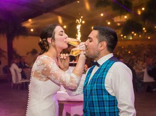 La boda de Noémie y Javier