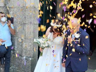 La boda de Flor y Kique