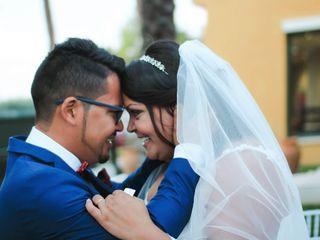 La boda de Lorrayne y Nestor