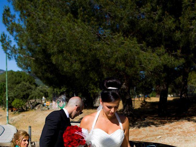 La boda de Rubén y Eva en La Navata, Madrid 6