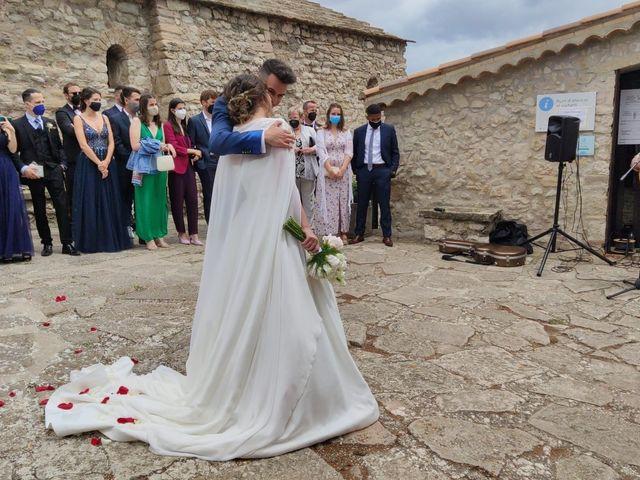 La boda de Adrià  y Susana en Santa Margarida De Montbui, Barcelona 1