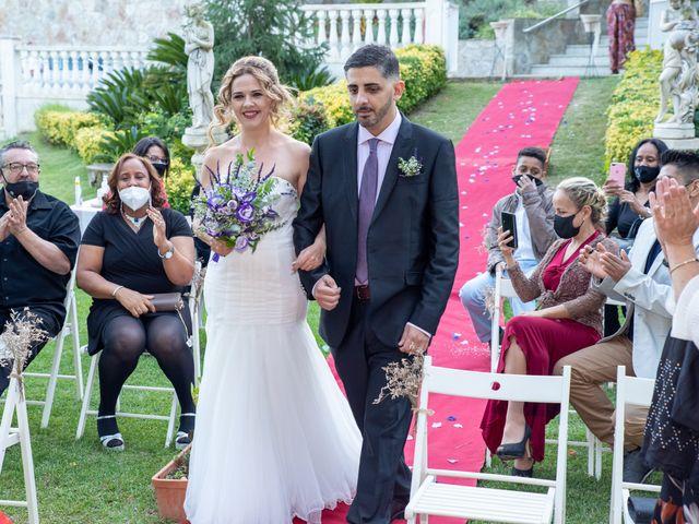 La boda de Silvia y Francys en Sant Andreu De Llavaneres, Barcelona 2
