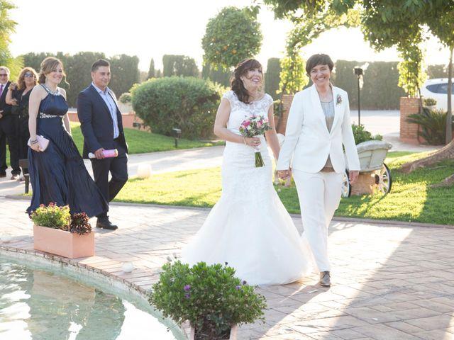 La boda de Mónica y María Dolores en Bétera, Valencia 11