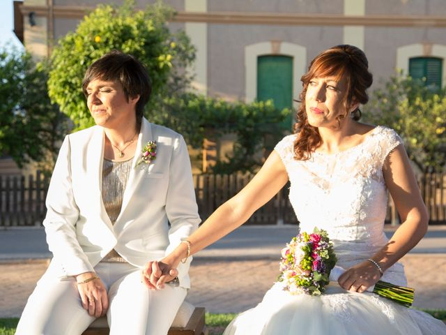 La boda de Mónica y María Dolores en Bétera, Valencia 13
