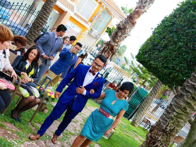 La boda de Nestor y Lorrayne en Ciudad Quesada, Alicante 42