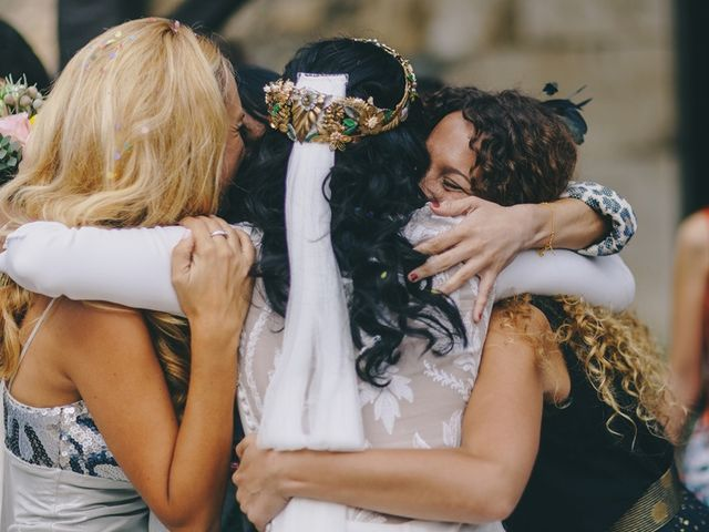 La boda de Chema y Catherine en Puente Arce, Cantabria 42