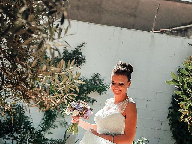 La boda de Ángel y Isabel en Requena, Valencia 16