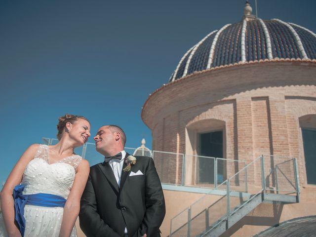 La boda de Ángel y Isabel en Requena, Valencia 29