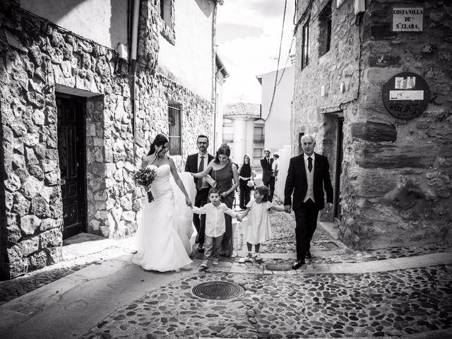 La boda de Víctor y Laura en Molina De Aragon, Guadalajara 10