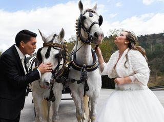 La boda de Elisabeth y Alan