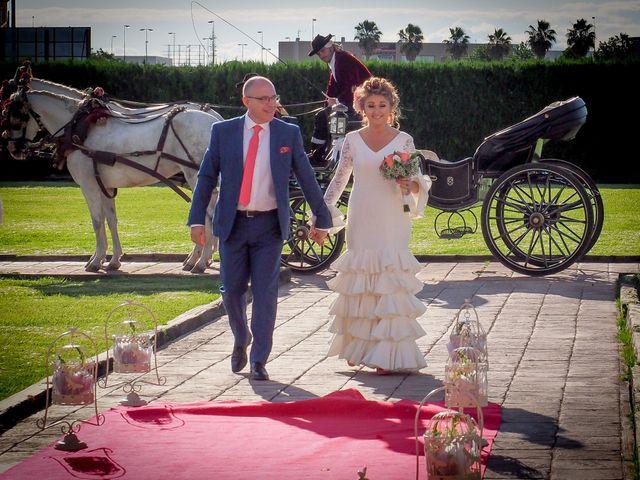 La boda de José María y Pilar en Sevilla, Sevilla 38