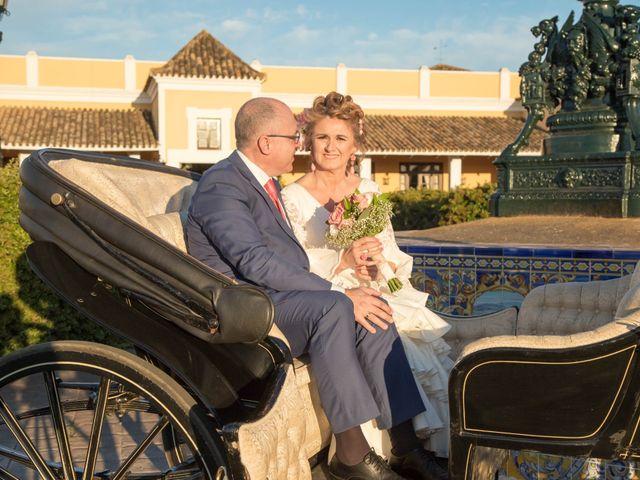 La boda de José María y Pilar en Sevilla, Sevilla 51