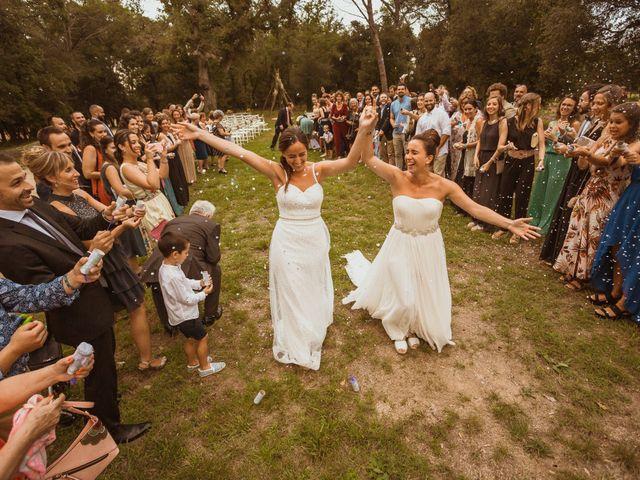 La boda de Julia y Ainara