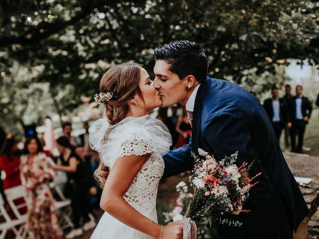 La boda de Garazi y German