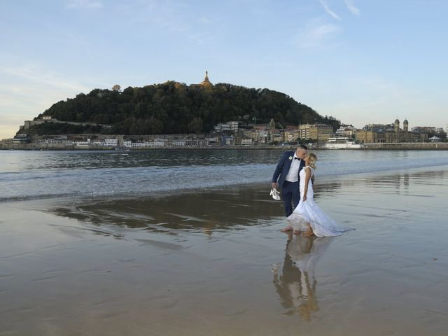 La boda de David y Astrid en Donostia-San Sebastián, Guipúzcoa 8