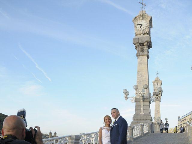 La boda de David y Astrid en Donostia-San Sebastián, Guipúzcoa 11