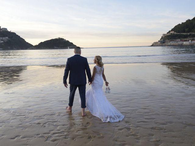 La boda de David y Astrid en Donostia-San Sebastián, Guipúzcoa 15
