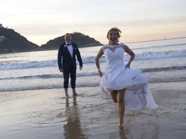 La boda de David y Astrid en Donostia-San Sebastián, Guipúzcoa 18