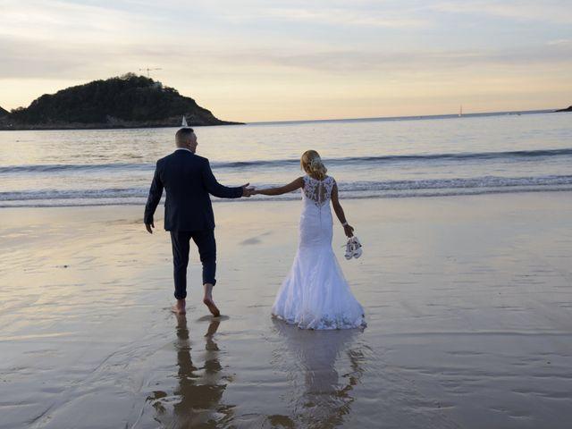 La boda de David y Astrid en Donostia-San Sebastián, Guipúzcoa 20