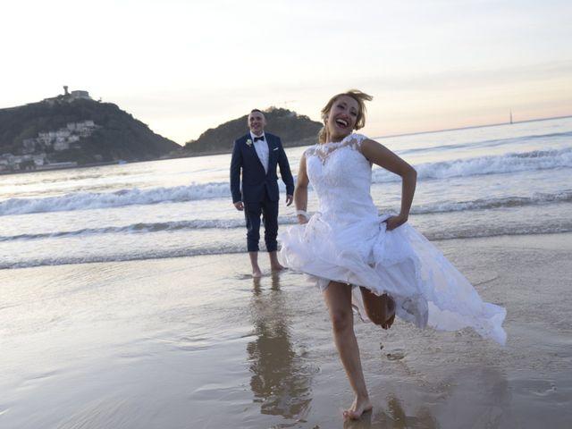 La boda de David y Astrid en Donostia-San Sebastián, Guipúzcoa 22