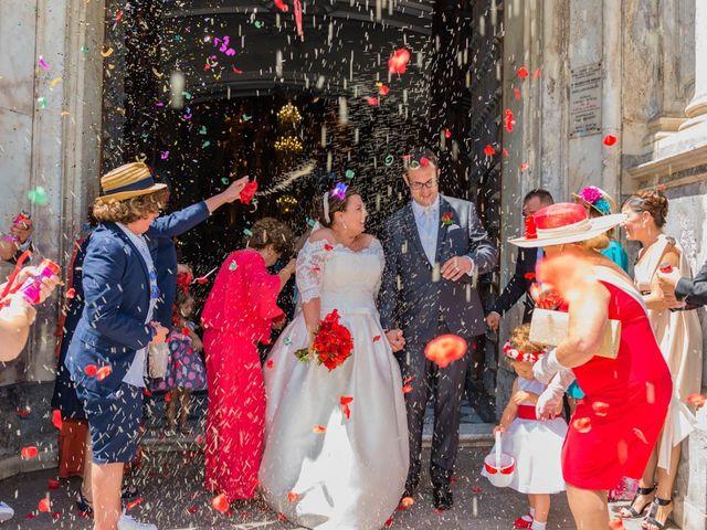 La boda de Miguel y Ana en Chiclana De La Frontera, Cádiz 21