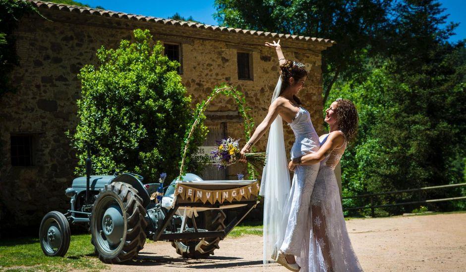 La boda de Laia y Arantxa en Espinelves, Girona