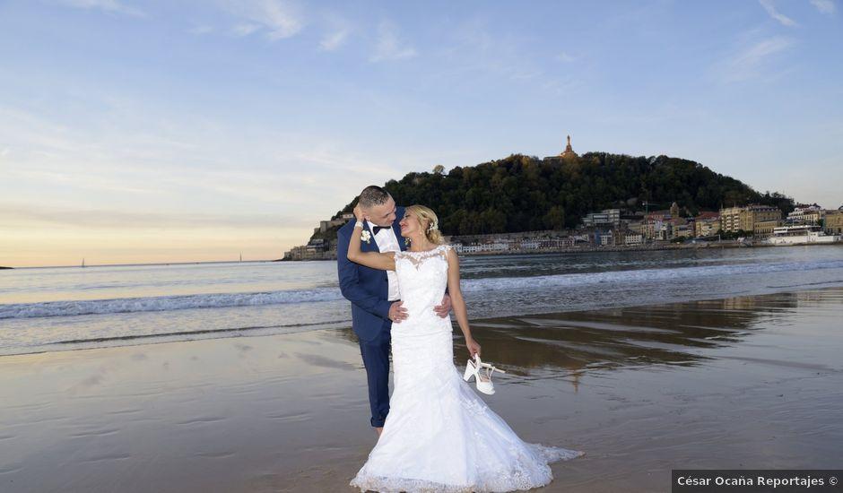 La boda de David y Astrid en Donostia-San Sebastián, Guipúzcoa