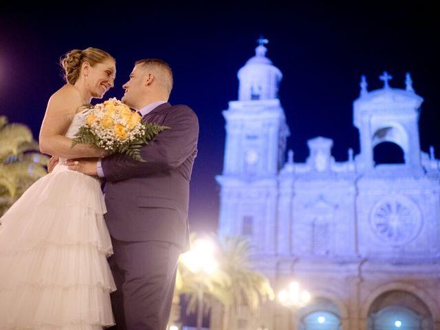 La boda de Luis y Raquel en Las Palmas De Gran Canaria, Las Palmas 6