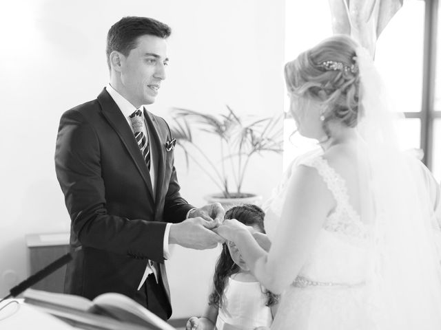 La boda de Pele y Oscar